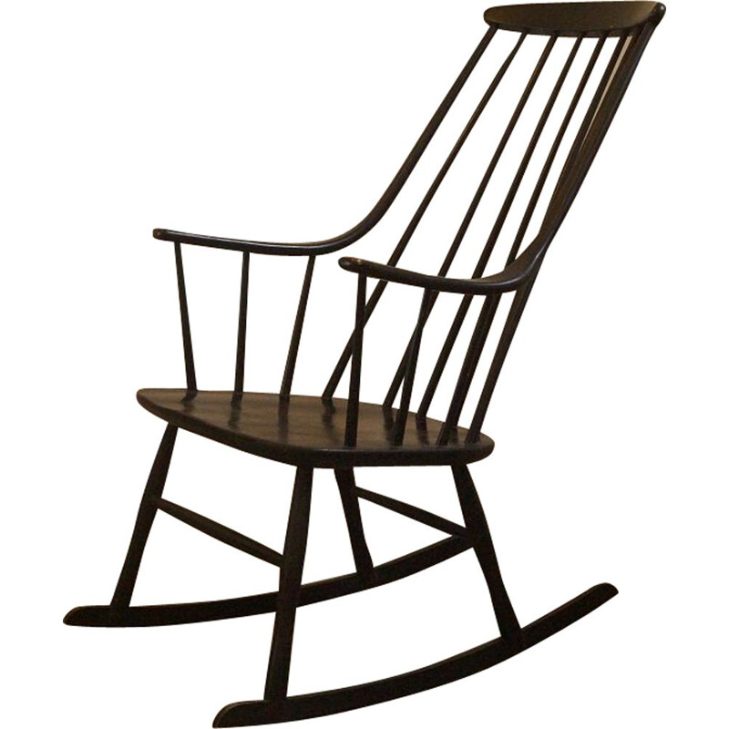 Vintage rocking chair by Lena Larsson for Nesto