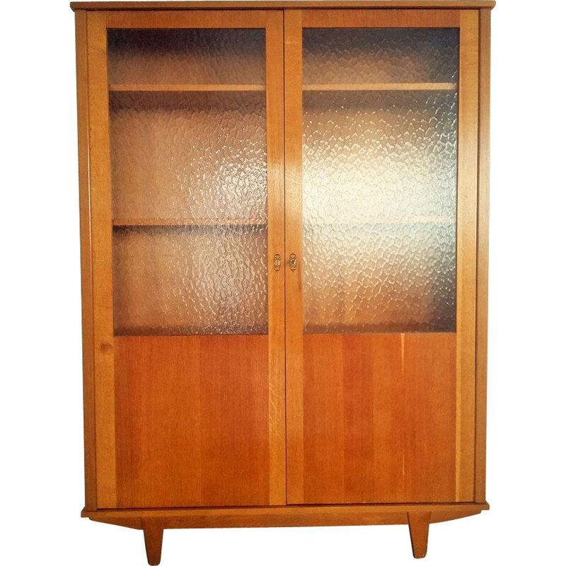 Library Hutch or bookcase in oak, 1960