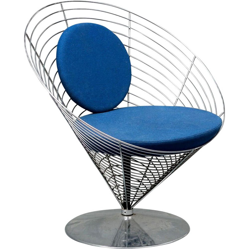 Vintage chair Wire Cone by Verner Panton for Fritz Hansen 1988