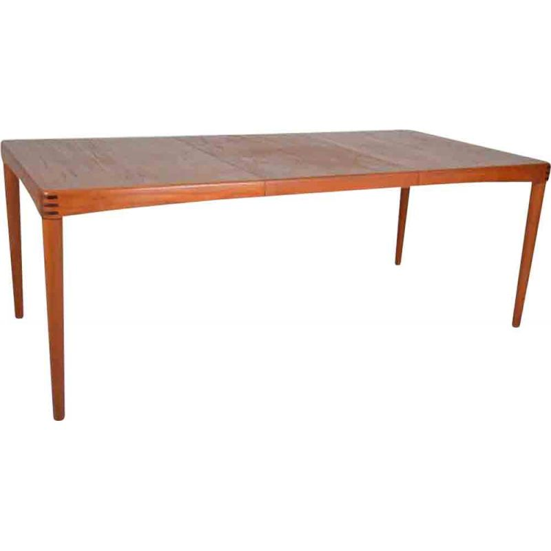 Extendable table in teak by Henry Walter Klein