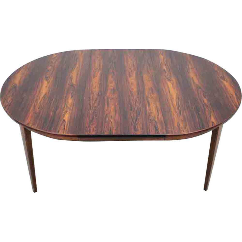 Extendable table in rosewood by Omann Jun