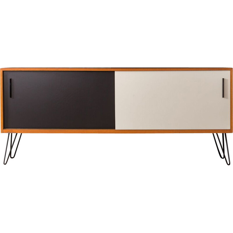 Black and white sideboard by Georg Satink for WK Möbel