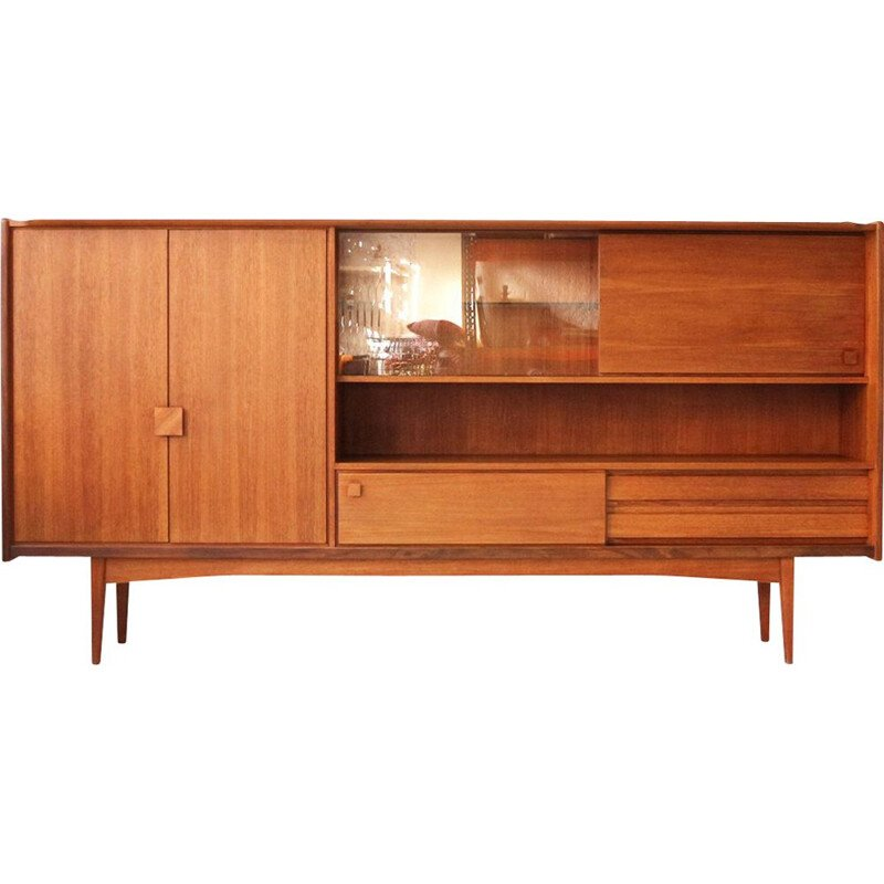 Vintage german teak cabinet for Bartels 1960s