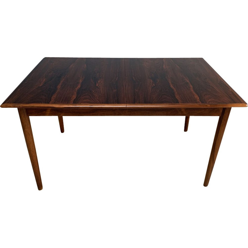 Vintage rosewood table by Arne Vodder