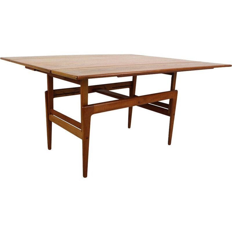 Vintage scandinavian table for Vildbjerg in teakwood 1960s