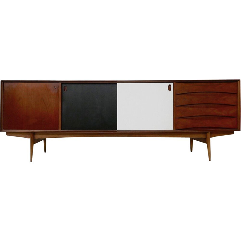 Vintage Paola sideboard for V-Form in wood 1950