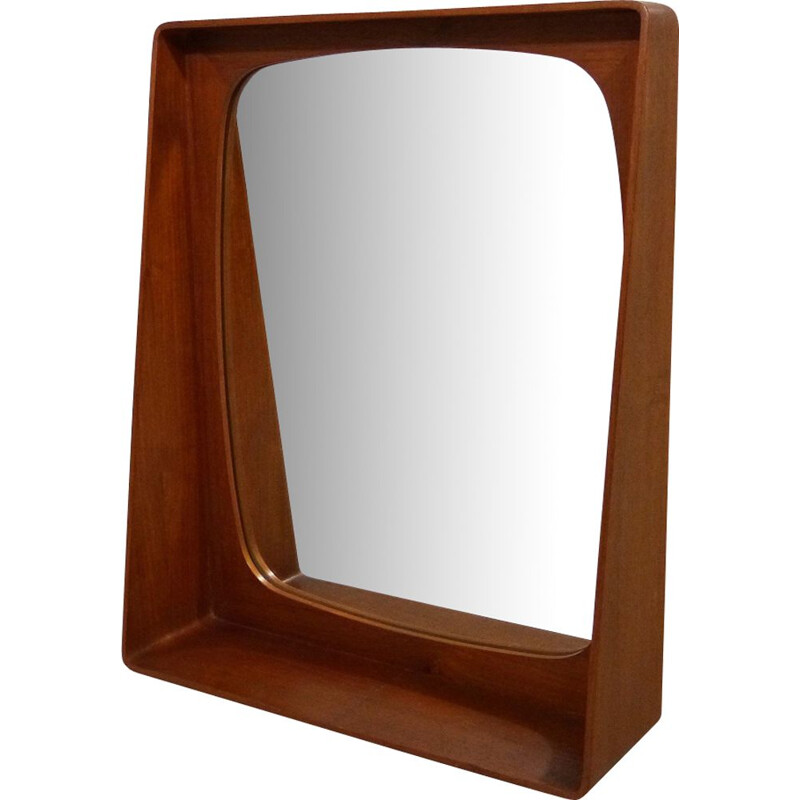 Danish mirror in teak