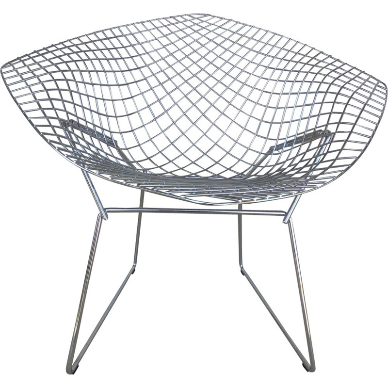 Diamond armchair by Harry Bertoia