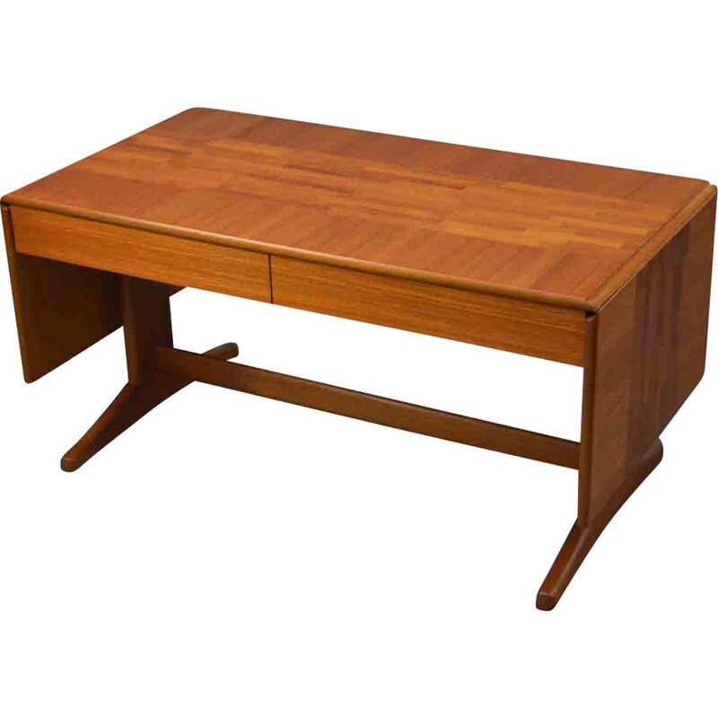 Vintage teak coffee table by McIntosh in teak veneered
