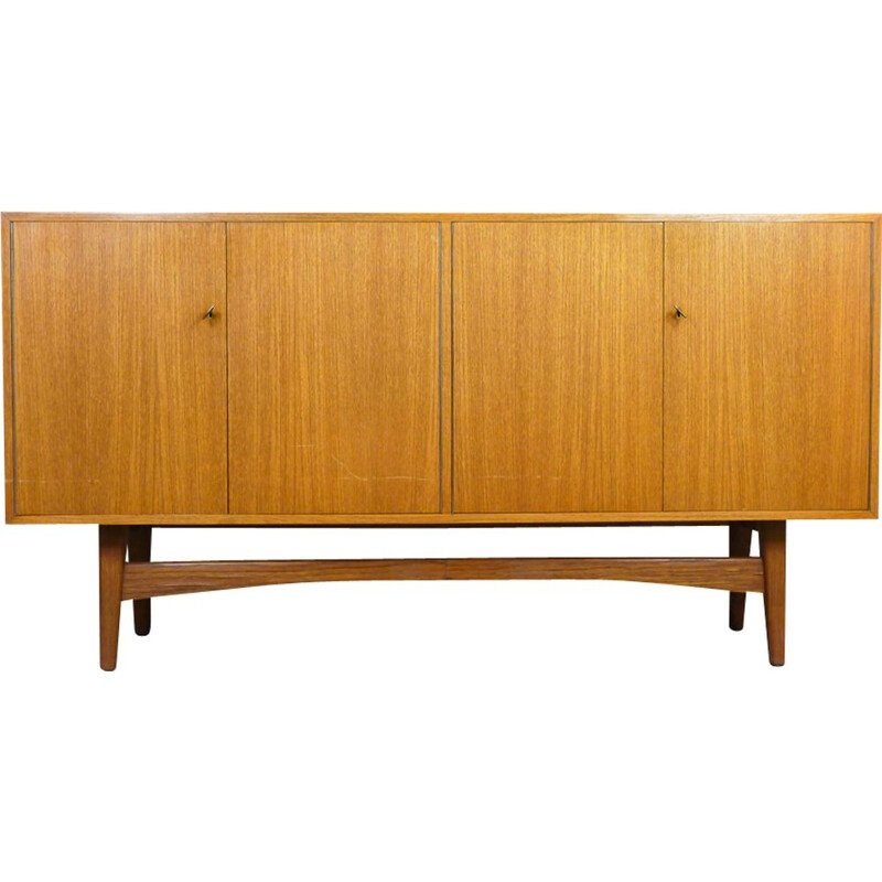 Vintage German sideboard in teak