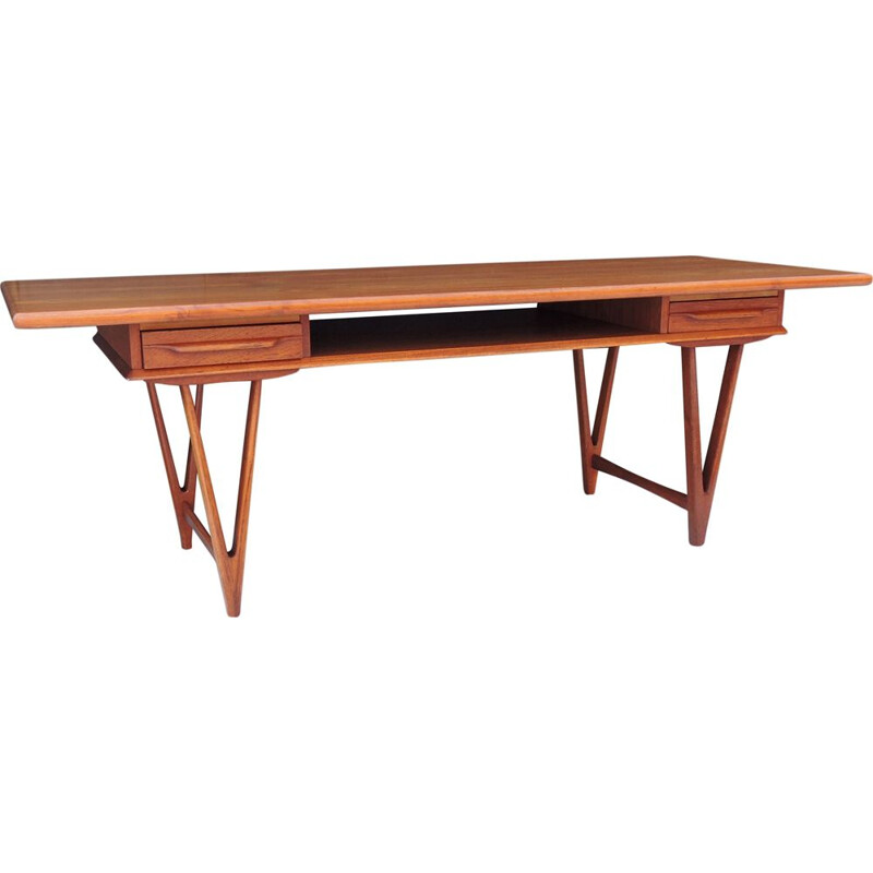 Vintage teak coffee table for Toften