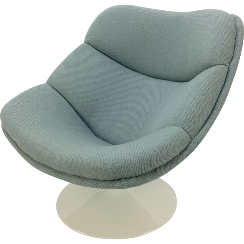 Vintage F557 Oyster lounge chair by Pierre Paulin for Artifort