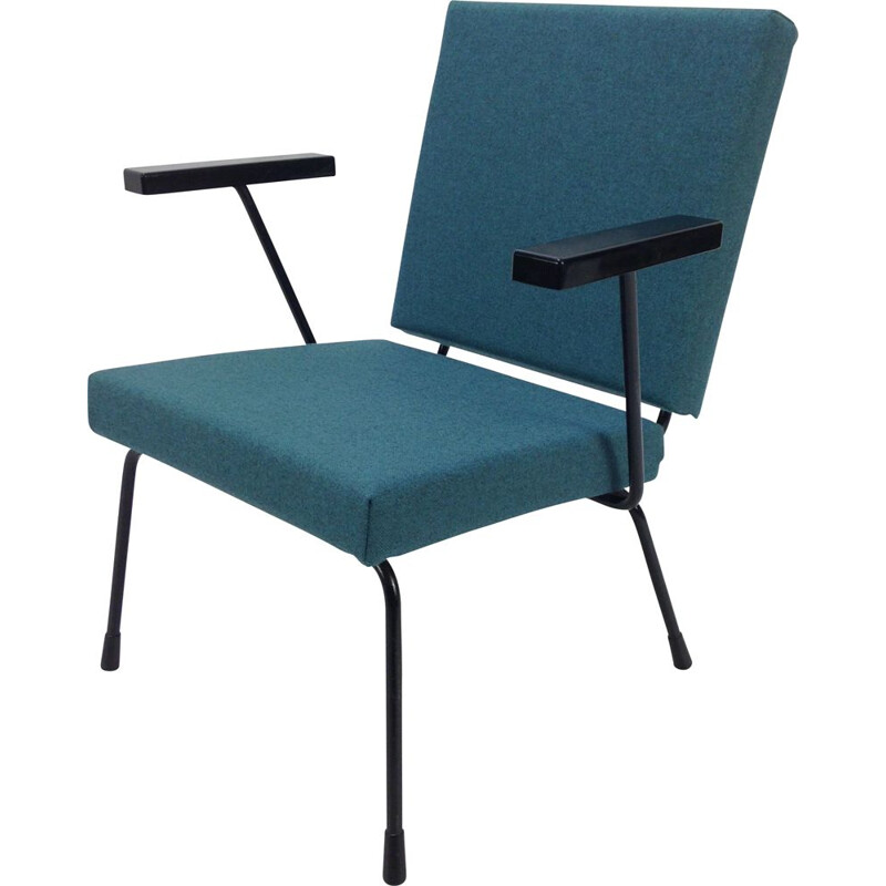 Vintage 415 1401 chair by Wim Rietveld for Gispen
