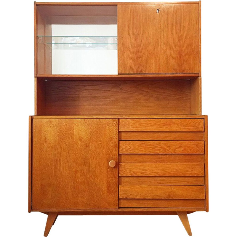 Vintage dresser with bar U 458 Jiri Jiroutek for Interier Praha