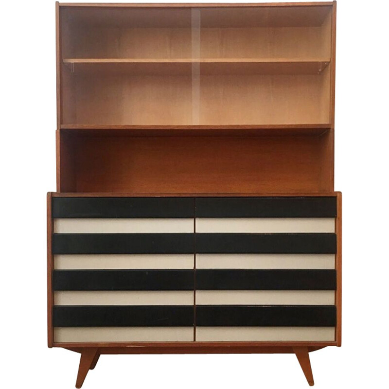 Vintage Dresser with Bookcase by Jiri Jiroutek for Interier Praha