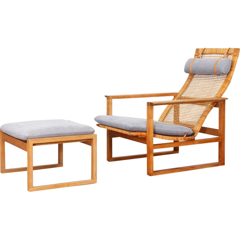 Vintage lounge chair by Borge Mogensen for Fredericia