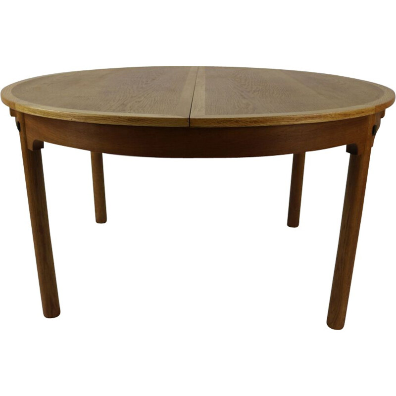 Vintage scandinavian oakwood table by Børge Mogensen