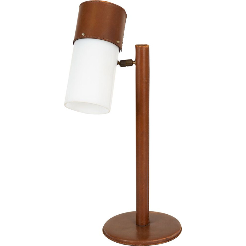 Vintage table lamp by Jacques Adnet