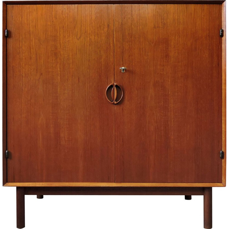 Vintage teak cabinet by Peter Hvidt and Orla Mølgaard-Nielsen for Søborg