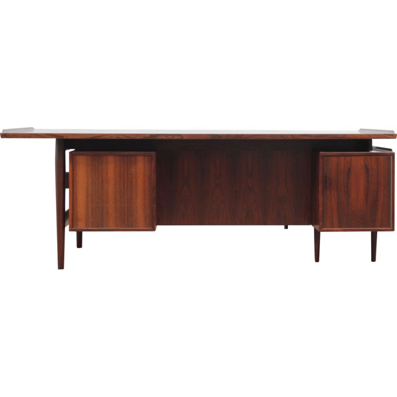 Executive desk in Rio rosewood by Arne Vodder