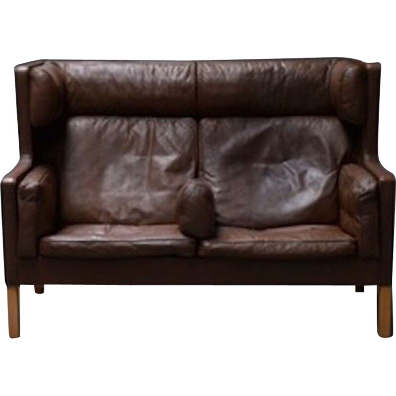 2192 leather sofa by Borge Mogensen