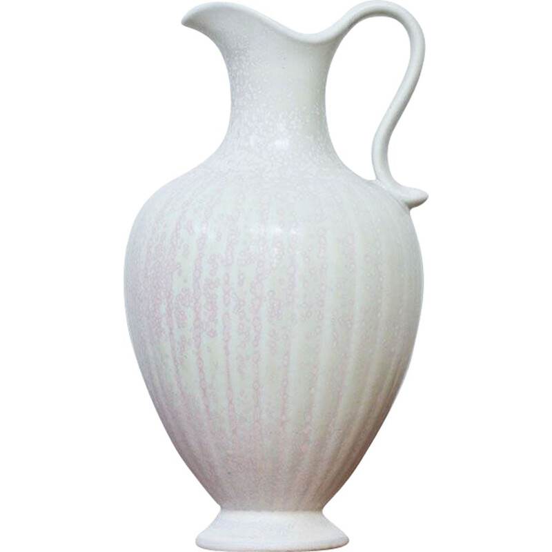 White vase by Gunnar Nylund for Rörstrand