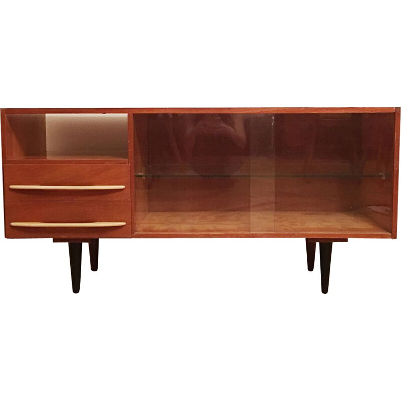 Vintage sideboard by Mojmir Pozar for UP Zavody