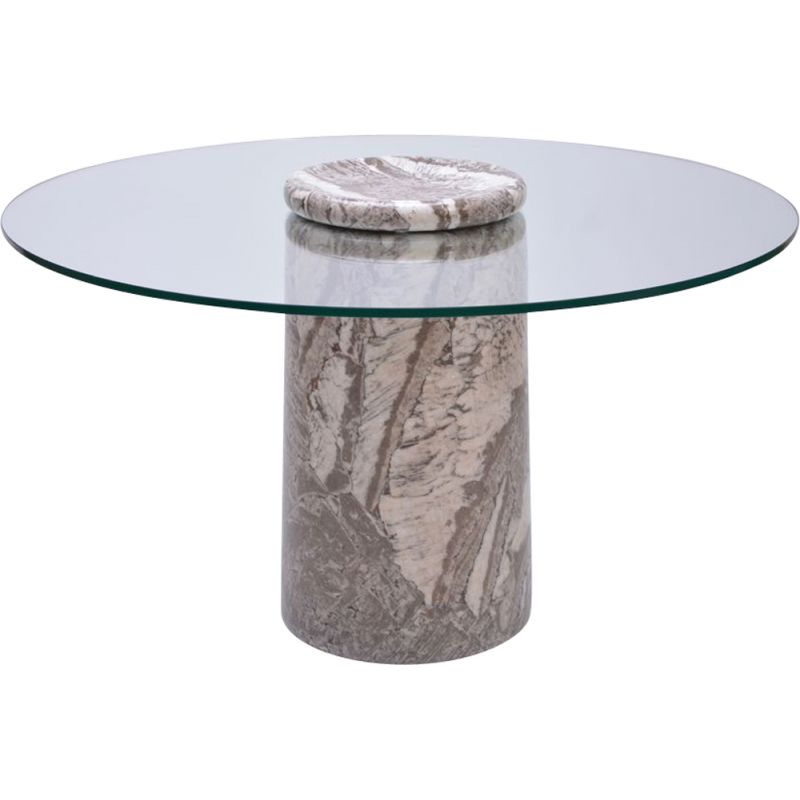 Vintage Italian Castore marble table for Sorgente dei Mobili 1970