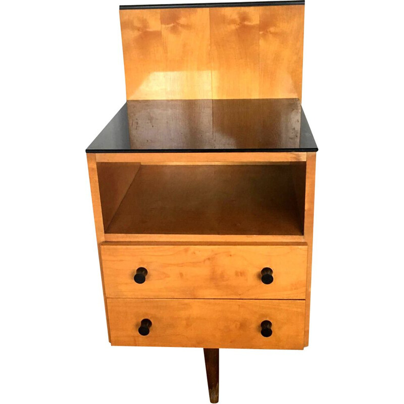 Vintage bedside table Klivie by UP Zavody