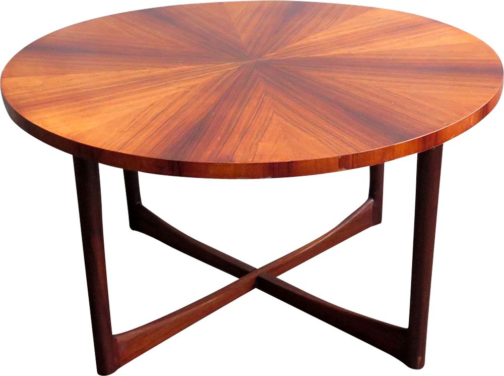 Vintage Rosewood And Teak Round Table 1960. Previous Next