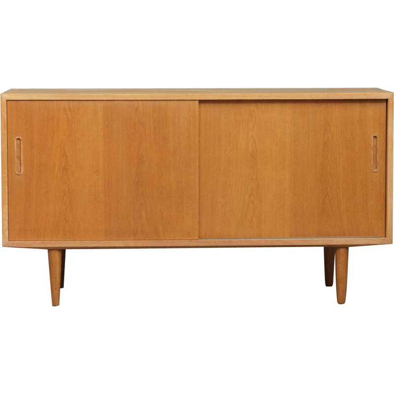 Vintage small oakwood sideboard by Poul Hundevad 1960