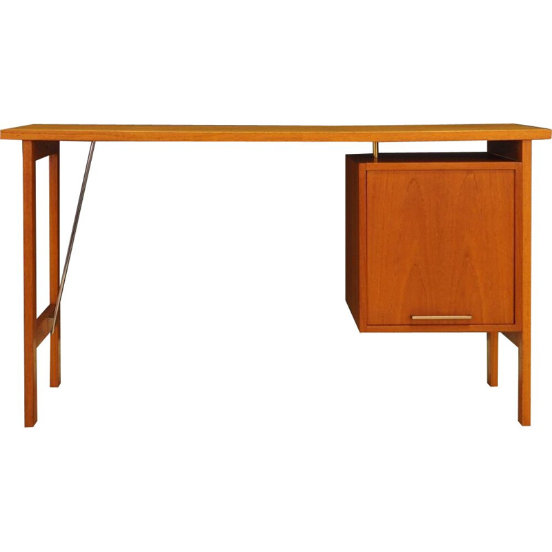 Vintage danish design teak desk for Bjerringbro 1970