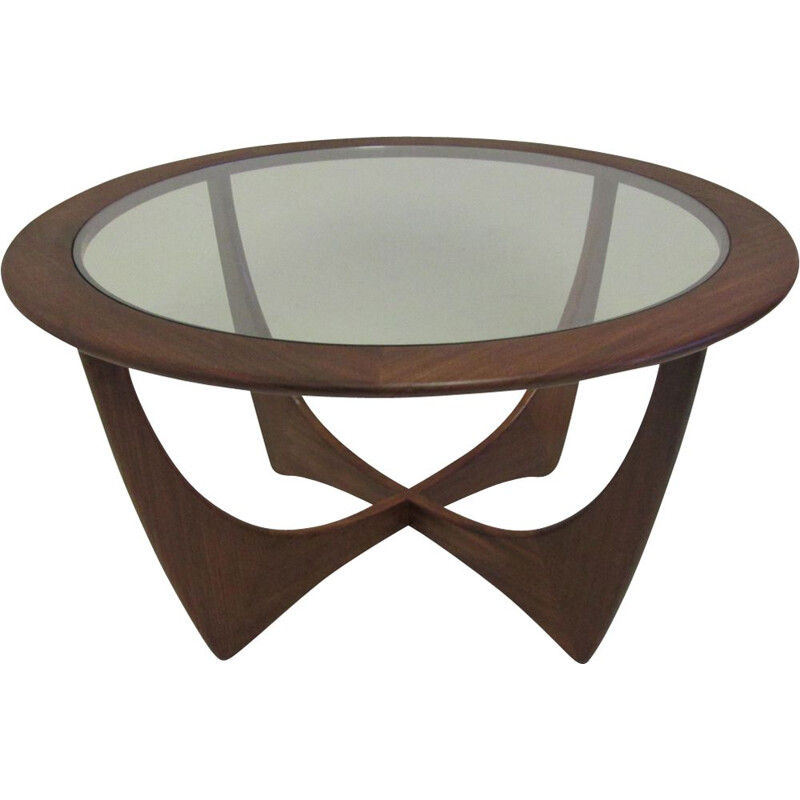 Vintage coffee table Astro in teak by Wilkins