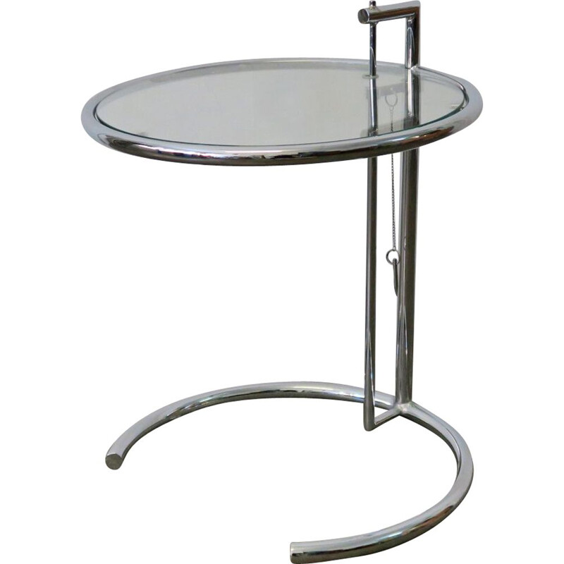 E-1027 side table by Eileen Gray