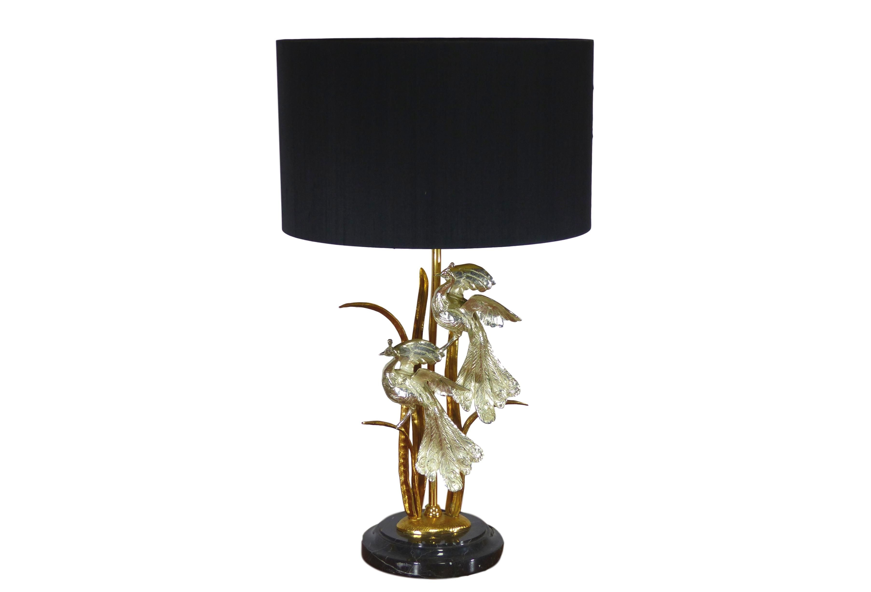 Vintage Brass And Marble Table Lamp Design Market