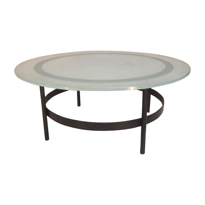 Vintage coffee table, Charles RAMOS - 1960s