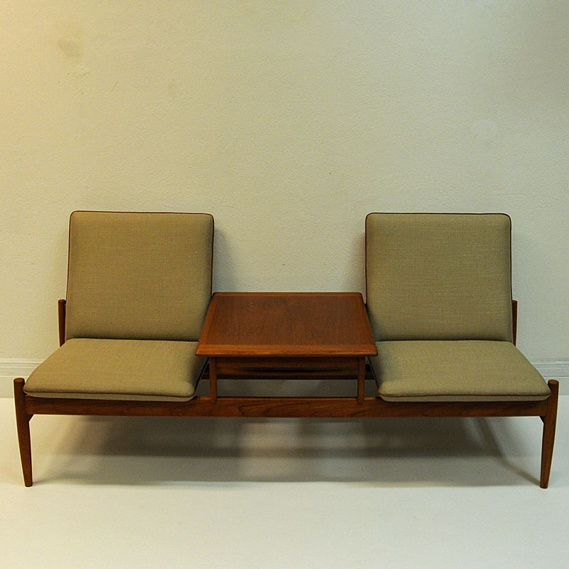 Phenomenal Vintage Sofa Module Set Saga With Table By Gunnar Sorlie Lamtechconsult Wood Chair Design Ideas Lamtechconsultcom