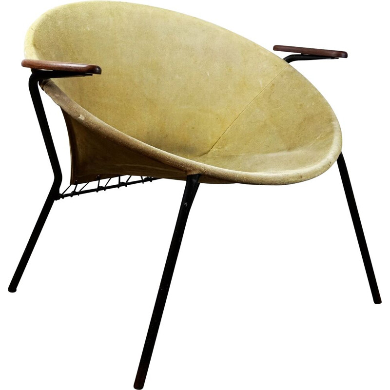 Vintage Scandinavian Balloon chair by Hans Olsen