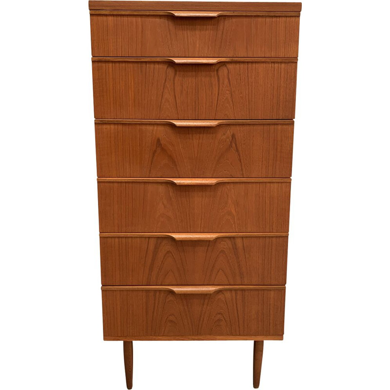 Vintage teak chest of drawers by Frank Guille for Austinsuite