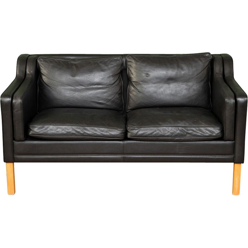 Vintage Danish loveseat sofa by Stouby Møbelfabrik