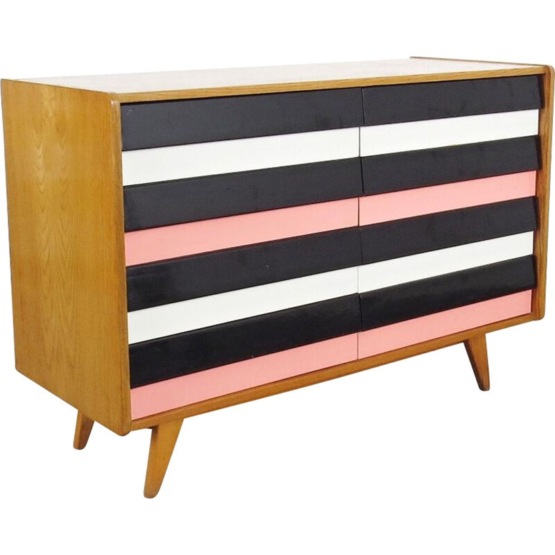 Chest of drawers by Jiri Jiroutek for Interier Praha 1960s