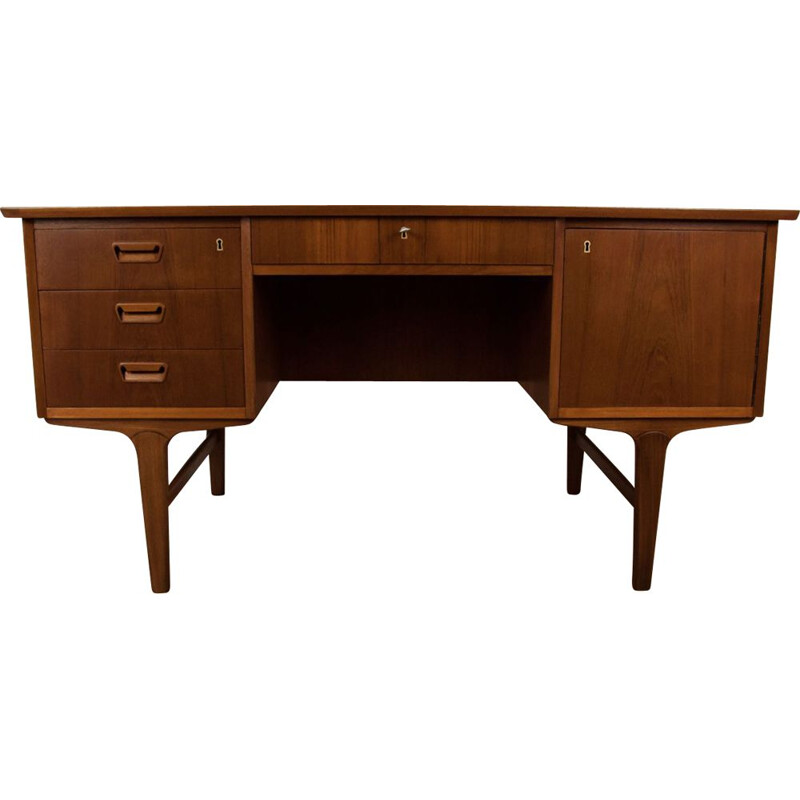 Vintage Desk in teak, Danish, 1960s