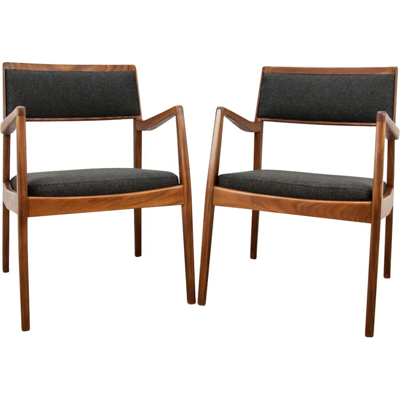 2 Vintage armchairs C140 Playboy by Jens Risom, 1960s, set of 2
