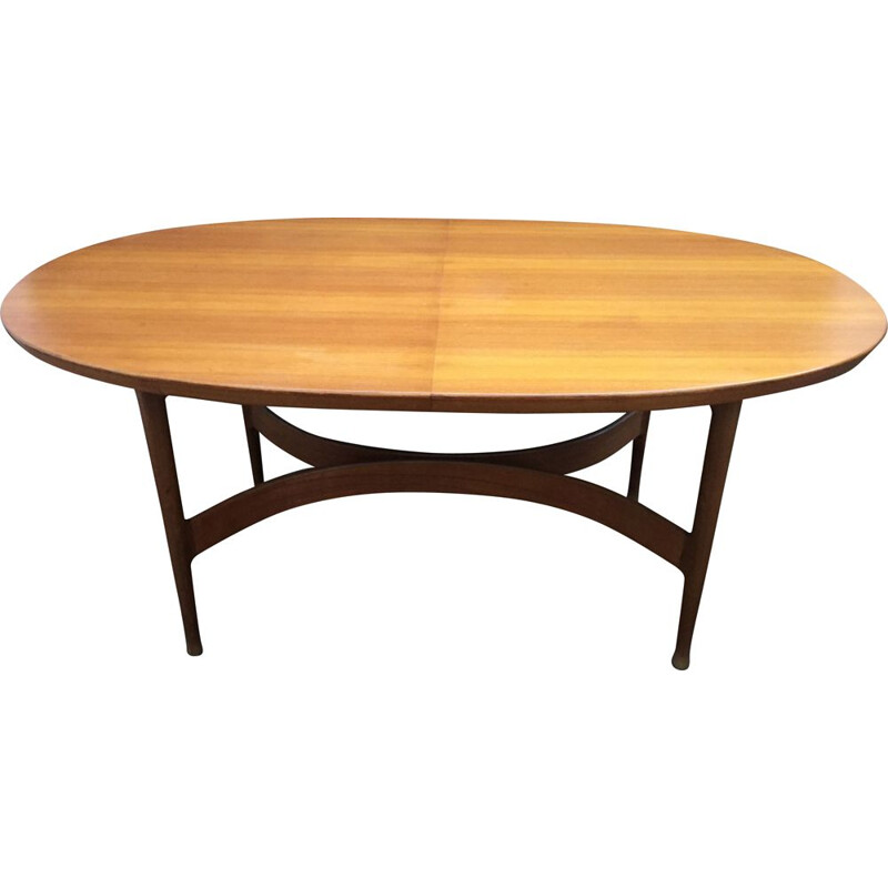 Vintage dining table Jacques Hauville