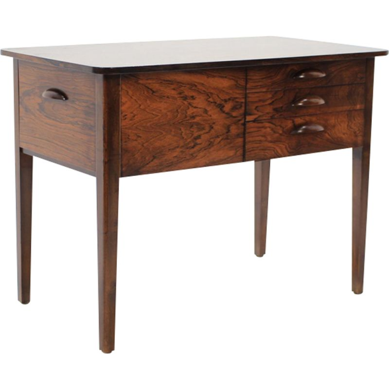 Vintage danish chest of drawers in rosewood from the 60s
