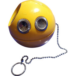 Yellow ball radio Paca-Man - 1970s
