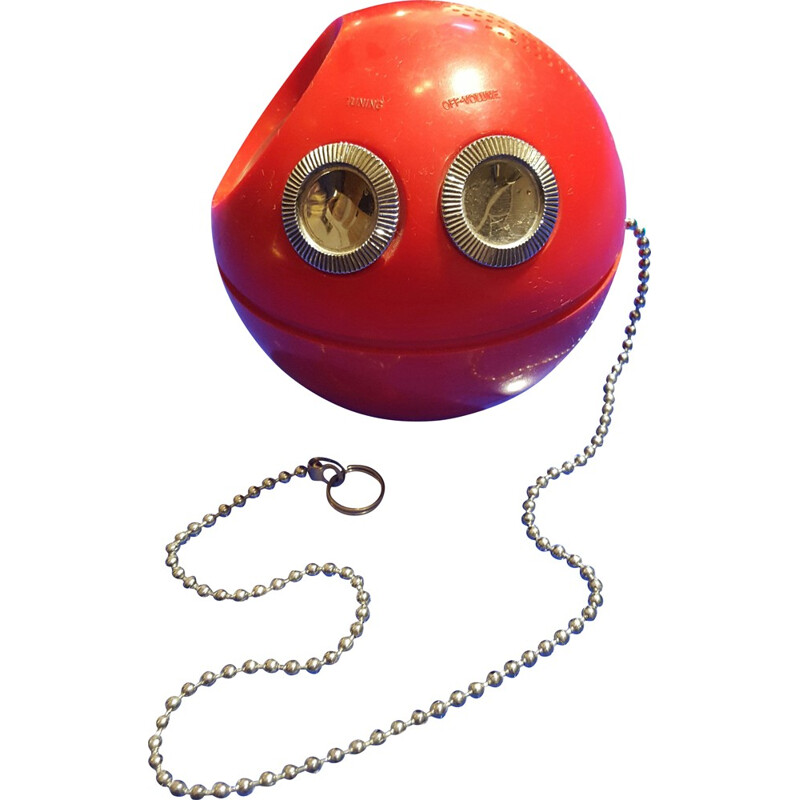 Red ball radio Paca-Man - 1970s
