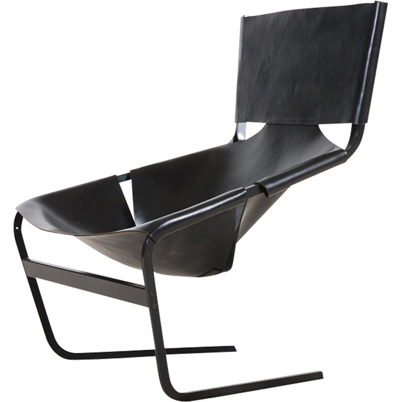 Vintage armchair F444 by Pierre PAULIN - 1970