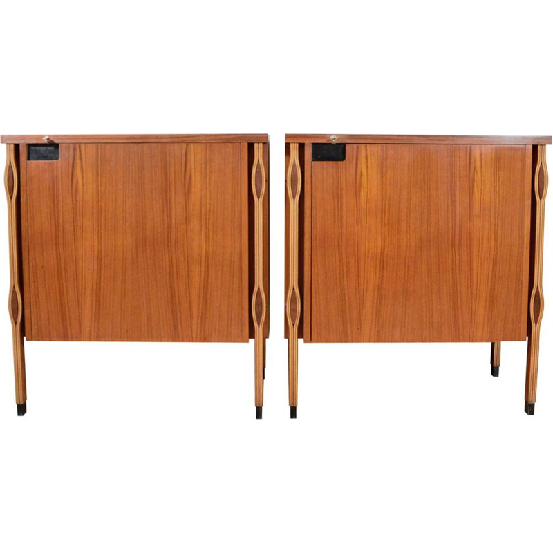 2 vintage Cabinets Taormina by Ico & Luisa Parisi for MIM, 1958