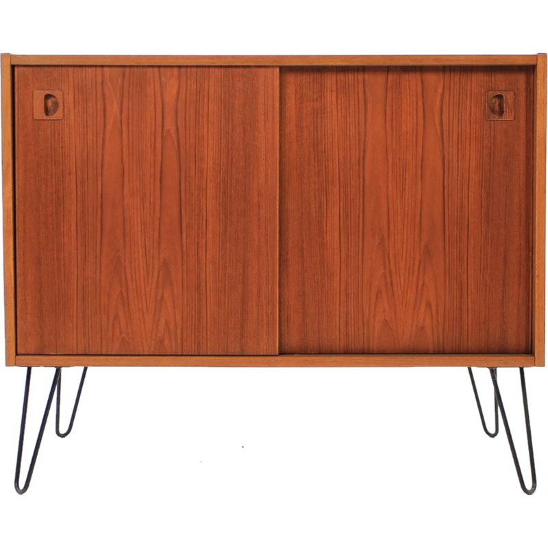 Vintage upcycled teak danish cabinet from the 60s